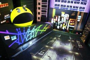 Pac-Man menguasai Shinjuku