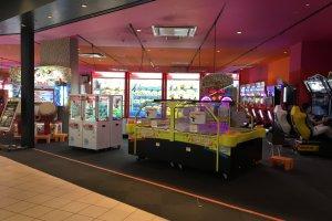 Arcade area in Round 1 Stadium
