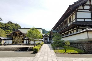 อาคารโฮะโจะ (Hōjō) ในสมัยก่อนใช้เป็นที่พำนักของพระภิกษุเจ้าอาวาส