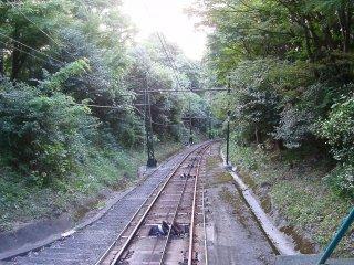 摩耶山纜車外的景色