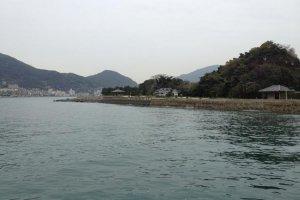 Approaching Ganryujima
