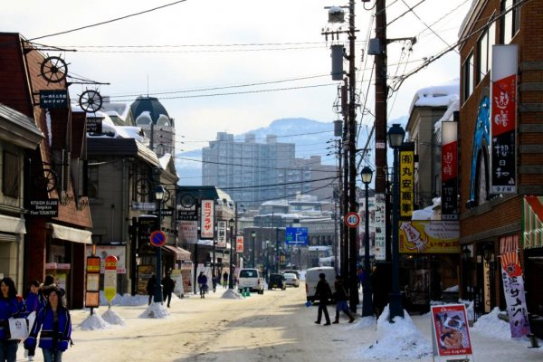 Sakaimachi street is just as beautiful in winter. It may be cold, but there are some fantastic cafes to have a break and warm up in.