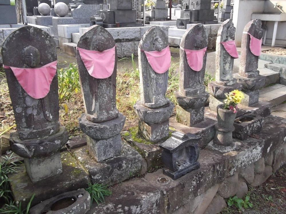 Centuries-old Buddhist statues