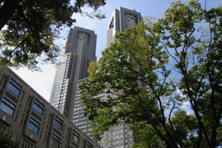 Токио с птичьего полёта