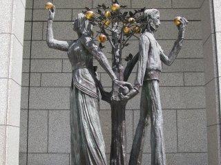 """Скульптура """"Райский сад"""""""