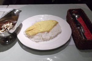 Omu curry rice