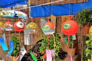 เทศกาลฤดูร้อนของญี่ปุ่นจะขาดอีกสิ่งหนึ่งไม่ได้เลย นั่นคือ ฟุริน (furin) หรือกระดิ่งลม