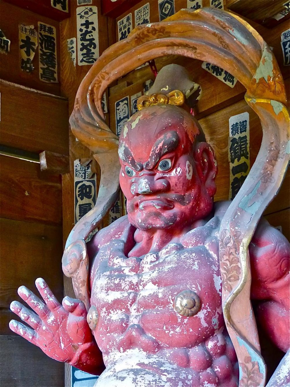 Guardian God of the temple gate