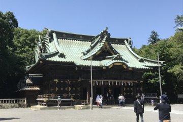 Santuário de Mishima, um Tesouro em Shizuoka