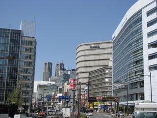 Апрельский день в Токио