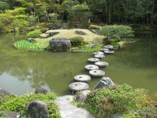 Фрагмент сада камней