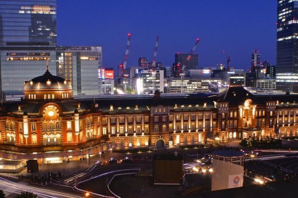 La renovada estación de Tokio
