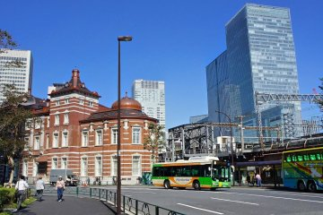 Afternoon at Tokyo Station Dome