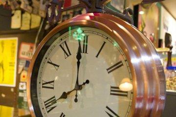 Cool weathervane clock