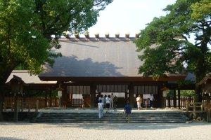 Sanctuaire Atsuta au sud de la ville de Nagoya
