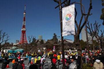 The course passes all the main sight, including Tokyo Tower