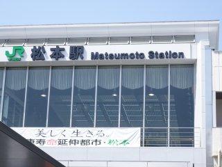 Matsumoto JR station