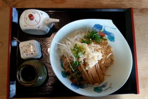 In-house special cold soba