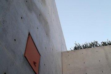 <p>The wall near the door</p>