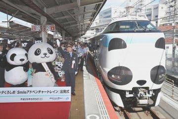 รถไฟคันใหม่ของ Kuroshio Limited Express
