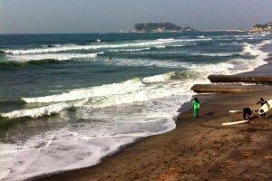 bills beachfront view of Sagami Bay