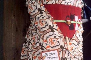 Những bộ kimono tuyệt vời như thế này được cho thuê ở Kyoto