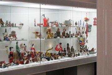 Куклы разных регионов Японии