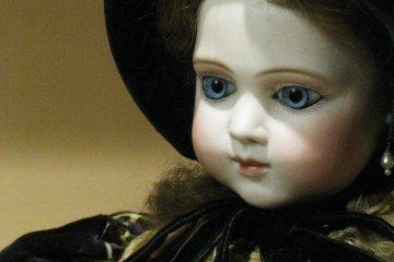 Французская фарфоровая кукла конца 19 века