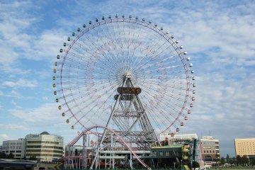 Колесо Йокогамы - одно из самых больших в Японии и мире!