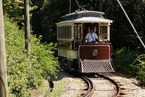 Ride the Meiji period tram!