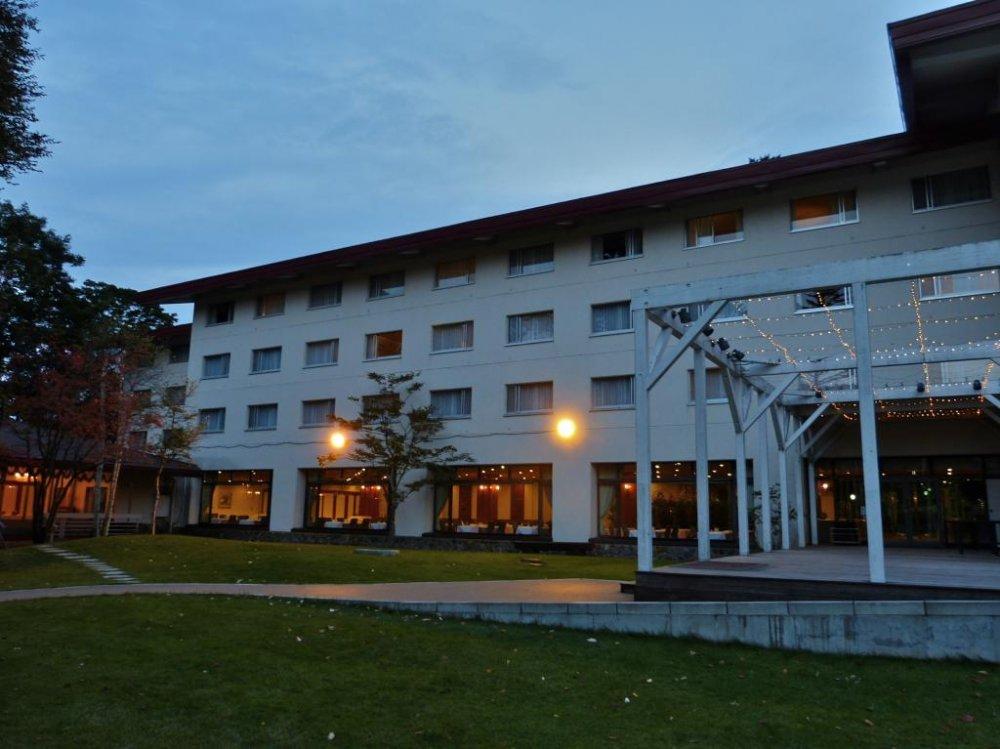 Khách sạn bên bờ hồ Nikko