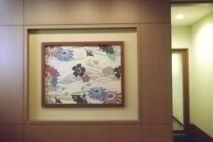 Tropical prints add an Okinawan flavor