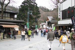 В выходной день многие японцы путешествуют