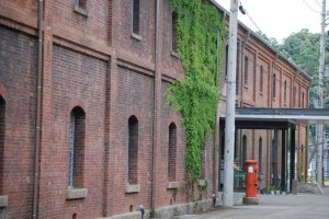 Brick Warehouse and postbox