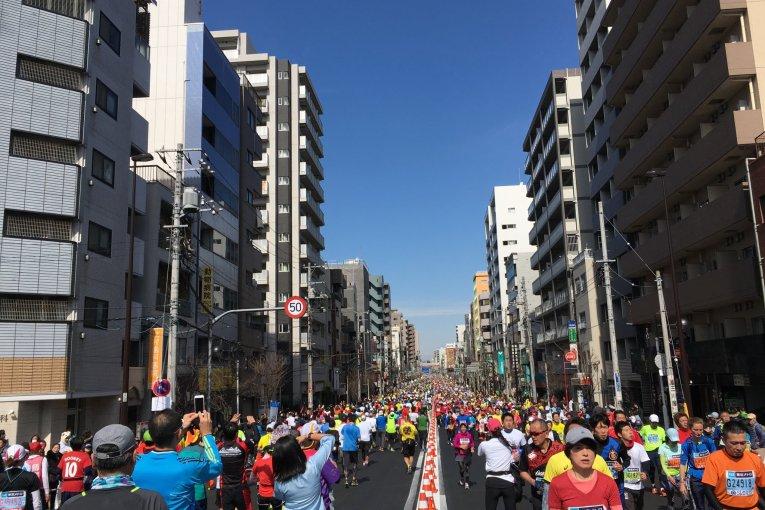 Running Tokyo