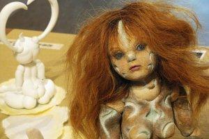 """Большая кукла под названием """"Душа вулкана"""""""