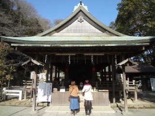 Sảnh chính của đền
