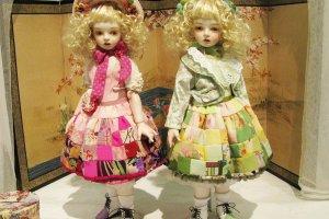 Фарфоровые шарнирные куклы