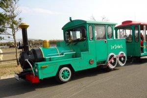 Le Soleil, train ride around the park