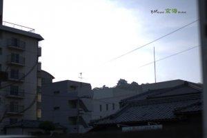 城北地区から勝山(城山)