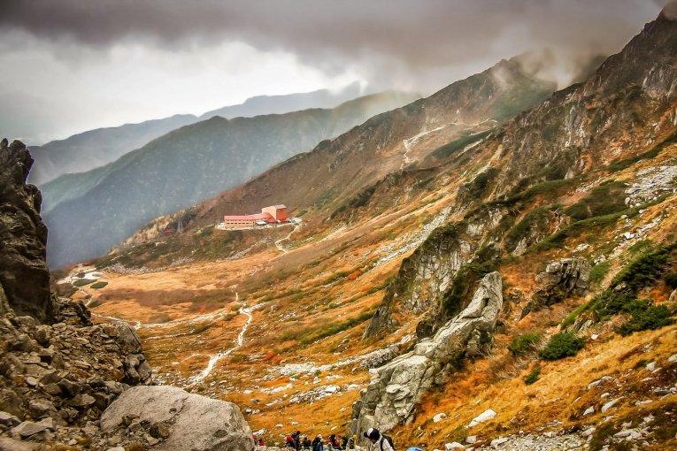 키소코마 산에서 우스기다케까지 하이킹