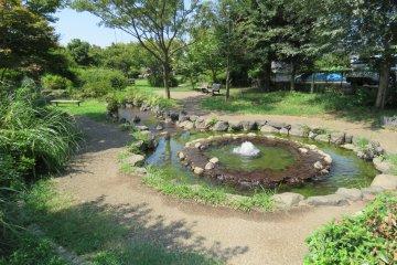 Seseragi Park fountain