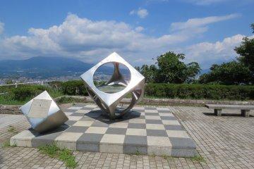 Observation area at Kankiyama Park