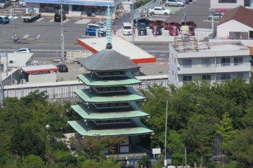 Pagoda in Kankiyama Park