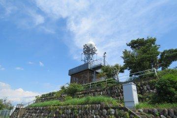Observatio deck at Kankiyama Park