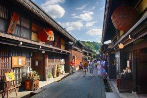 空手旅行:从高山到松本