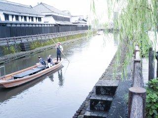 Boat ride down Uzuma River in Tochigi