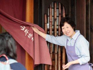 Friendly staff at Yamamoto Shorten