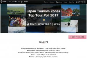 Undiscovered Japan Top Tour Poll 2017