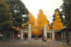 ประตูทางเข้ามหาวิทยาลัยโตเกียว